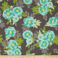 Cottage Quilts And Fabrics by Riley Blake The Cottage Garden Large Floral Gray Discount
