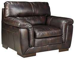 Ashley Furniture Zelladore Canyon Contemporary Faux Leather