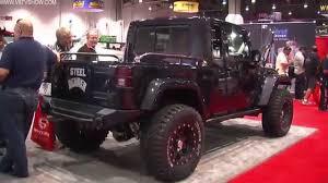 jeep jk8 2012 v8tv sema video coverage vwerks 392 hemi jk8 jeep kts pre