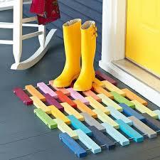 20 fresh spring craft projects modern doormats doormat and modern