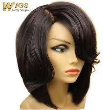 how to trim ladies short hair new bob cut style human hair bob lace front wig 130 density
