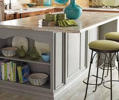 gray kitchen island cherry cabinets with a gray kitchen island schrock