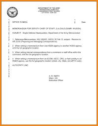 7 memorandum for record example model resumed