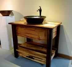 Mission Style Vanities Vanities By E C Racicot Art Sinks Handmade Vanities For Pottery