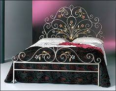 Wood And Wrought Iron Headboards Guinevere Bed From Horchow Heavy Gauge Steel In A Beautifully