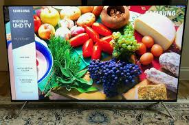 cuisine tv plus 49in samsung 4k hdr premuim smart tv wi fi tv plus freesat hd
