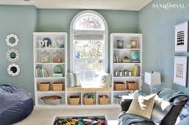 How To Make Bookcases Look Built In How To Sew A Pillow Cover 100 Giveaway Sand And Sisal
