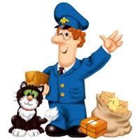 postman pat coloring kids