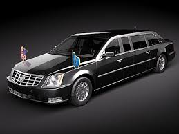 cadillac cts limo cadillac cts limousine 3d model