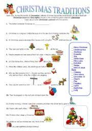 esl worksheets for beginners traditions