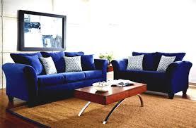 blue living room set home design ideas
