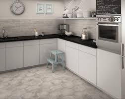 Grey Tiles Memphis Grey Hexagon Wall And Floor Tile Tiles From Tile Mountain