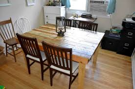 Pallet Dining Room Table Ana White The Shipping Pallet Dining Table Diy Projects
