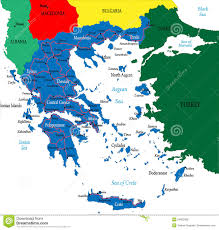 Map Of Greece Islands by Greece Map Royalty Free Stock Photos Image 24902508