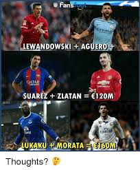Lewandowski Memes - fanstool airway lewandowski aguero qatar airways suarez