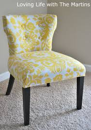 Reupholstering A Dining Room Chair Loving Life With The Martins How To Reupholster A Chair