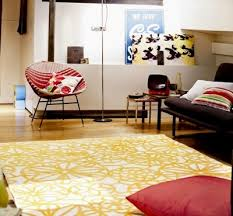 Www Modern Rugs Co Uk Esprit Society Circle Yellow Image 1 Modern Rugs Co Uk