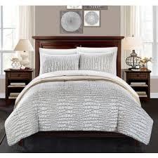 Fur Bed Set Size Queen Faux Fur Comforter Sets For Less Overstock Com