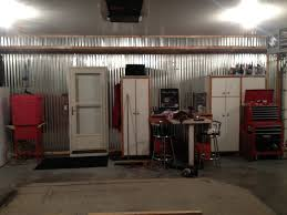 interior corrugated metal garage walls installing corrugated design corrugated metal garage walls finish