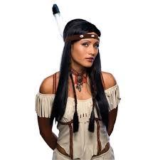 Halloween Costumes Pocahontas Pocahontas Wig Womens Halloween Costumes