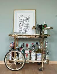 Suche Wohnzimmer Bar Interior Inspo Bar Cart Nummer Fünfzehn