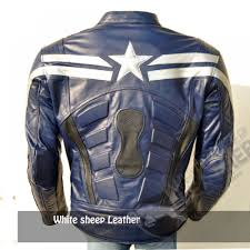 blue motorbike jacket captain america 2014 leathe 1000x1000 jpg