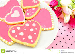 heart shaped cookies heart shaped cookies stock photo image 36535860
