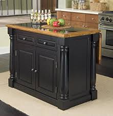 oak kitchen island with granite top amazon com home styles 5009 94 monarch granite top kitchen