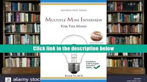 free download multiple mini interview mmi for the mind advisor