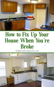 best 25 budget kitchen remodel ideas on pinterest cheap kitchen how to fix up your house when you re broke