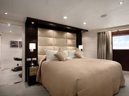 Headboard With Lights Attractive Wall Mounted Headboards Plans Free New At Interior