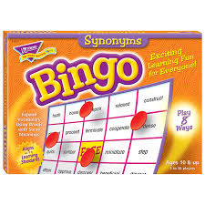 Synonyms For Customer Amazon Com Synonyms Bingo Game Toys U0026 Games