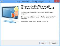 gadget bureau windows install desktop gadgets and sidebar in windows 8 team windows 8