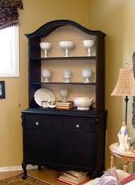 Black China Cabinet Hutch by 40 Best Painted China Cabinets Hutches Images On Pinterest