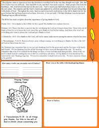 thanksgiving dinner worksheet thanksgiving sunday lesson