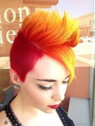 34 yellow color short hairstyles for women