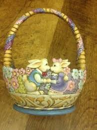 jim shore easter baskets jim shore bird basket figurine set jim o rourke baskets and