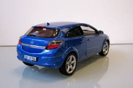 opel blue opel astra h gtc modelcar welly 1 18 in blue owned by u0027lupolo u0027