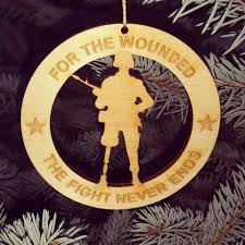 christmas ornaments available to support wounded warriors