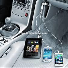 porta iphone auto 3 porte usb caricabatteria da auto per iphone 6 multi porta usb
