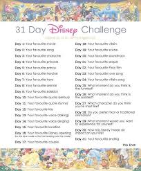 Challenge How Do U Do It Do U Want Me To Do The 30 Day Disney Challenge Disney Amino