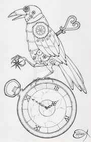 Drawing by Best 25 Steampunk Drawing Ideas On Pinterest Mechanical Art