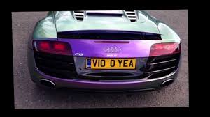audi color changing car stasis tuned audi r8 v10 spyder with colour changing wrap