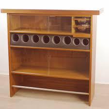mobilier vintage scandinave meuble de rangement bar scandinave heltborg mobler en bois de teck