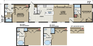 old mobile home floor plans new moon a 47225 l411 delaware beach mobile home for sale