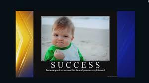 Success Kid Meme - dad of success kid meme seeks help to get kidney cnn video