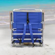 Rio 5 Position Backpack Chair Rio Blue Backpack Beach Chair With Cooler Walmart Com