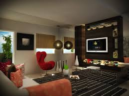 luxury simple living applying elegant interior decoration