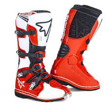 mx motorbike boots motocross boots in waterproof leather with breathable lining with
