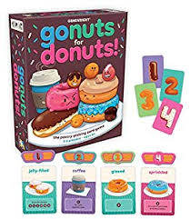 gamewright go nuts for donuts card toys